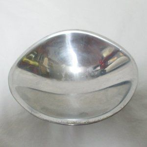 NAMBE #579 Vintage 1960's Butterfly Bowl Aluminum